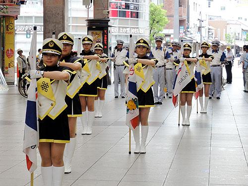「ダメ。ゼッタイ。」普及運動街頭パレード